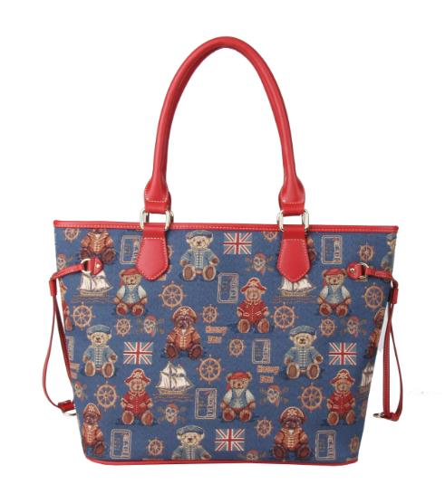 ODM design fashion Henney Bear shopping bag