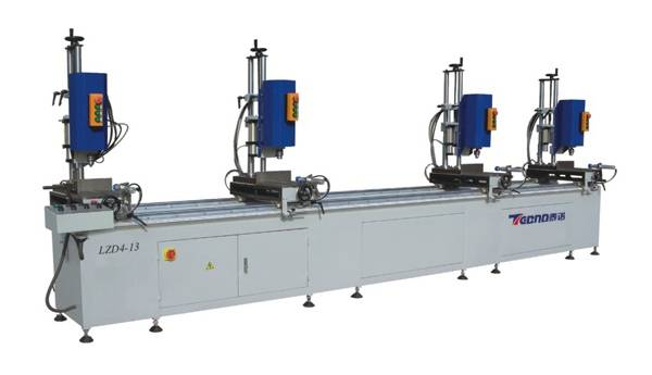 Aluminum Window And Door Machine-Four-head Combination Drilling Machine
