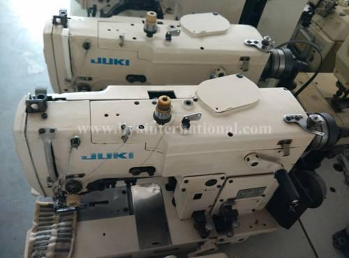 used JUKI 780 white button hole sewing machine