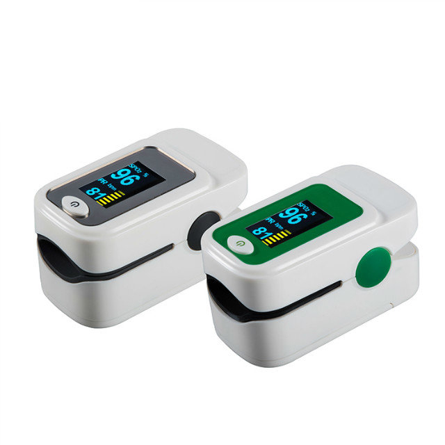 Finger Digital Pulse Oximeter Blood Oxygen Saturation Monitor Heart Rate Monitor SPO2 Health Monitor
