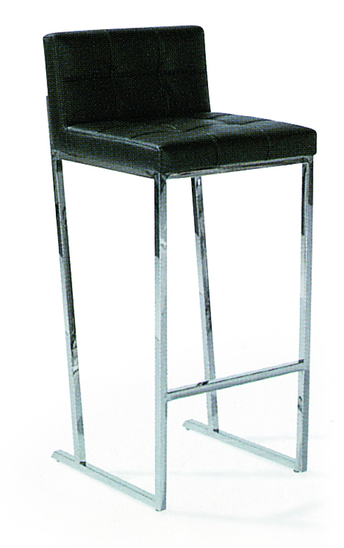SHIMING FURNITURE MS-3221 modern bar chair with stainless steel foot