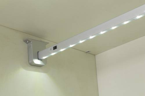 LED light bar wardrobe