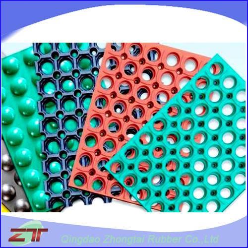 good quality anti-slip rubber sheet,body building mat