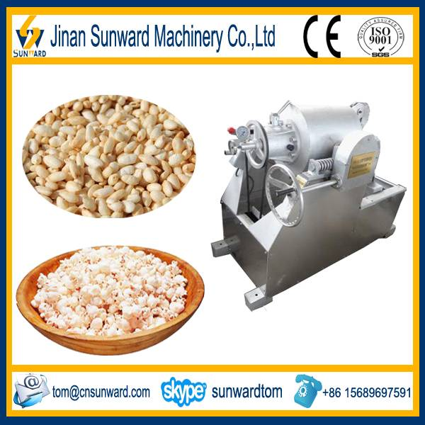 On hot sale stainless steel flavored popcorn machine