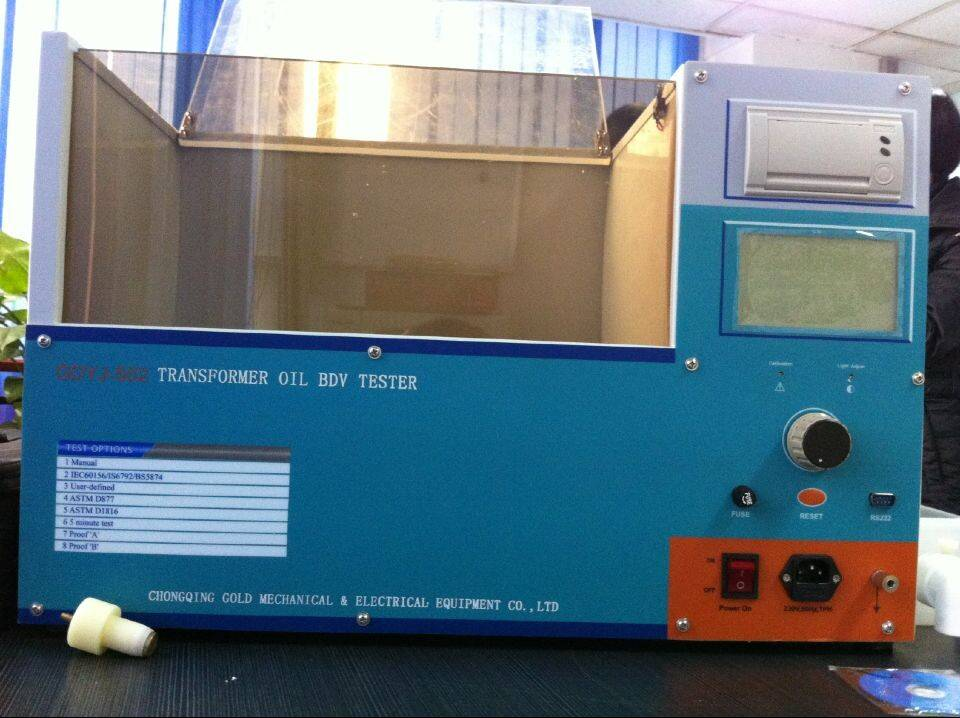 China Made Hot Sale 100 kV Dielectric Strength Testing Equipment