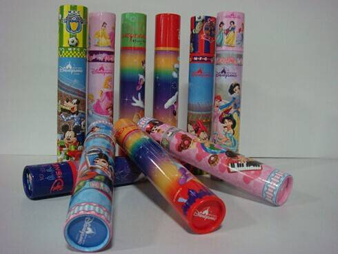 Manufacturing candy packaging tubes/boxes