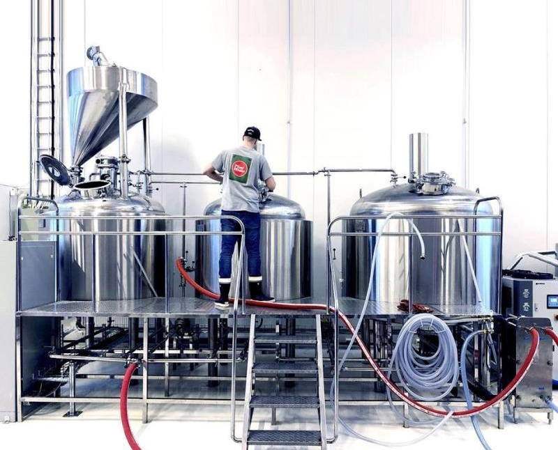 500L micro beer brewing equipment, brewery brewhouse beer equipment