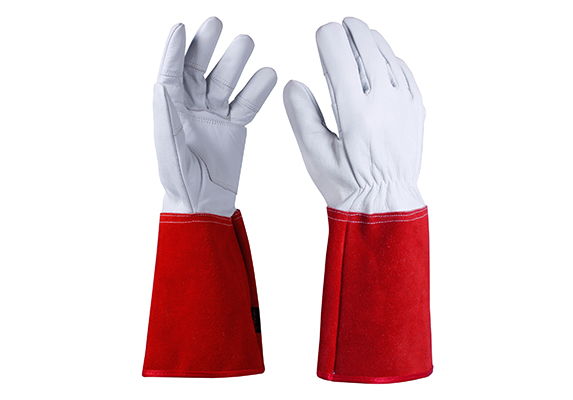Cowhide Safety Work Gloves/CLG-04