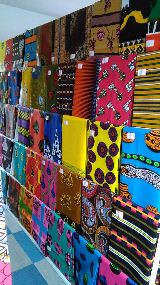 Africa wax printed fabric