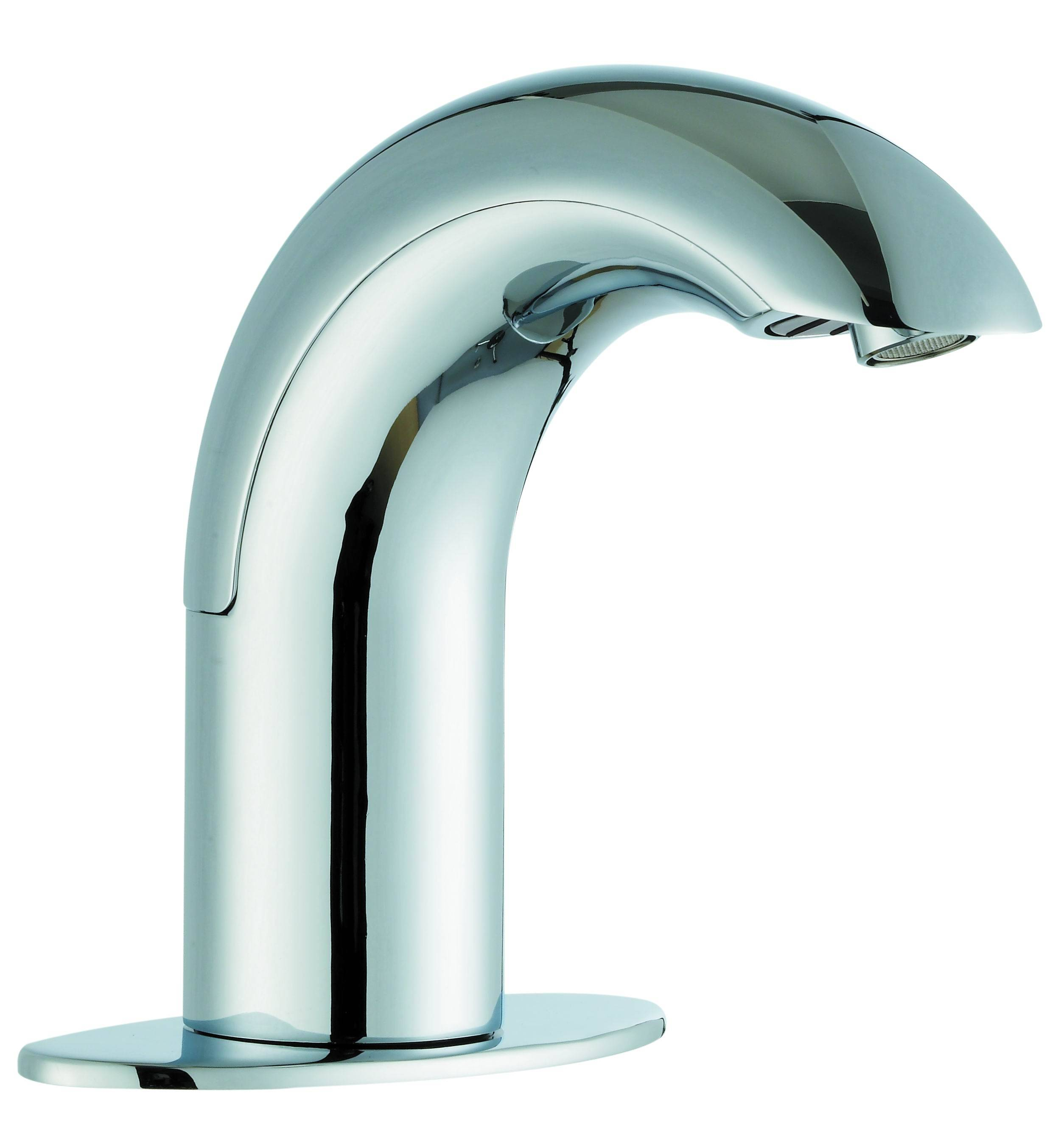 Automatic Kitchen Faucet with Two sensor, Zinc-alloy Body