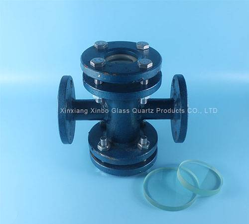 valve stainless steel toughened sight glass sheet