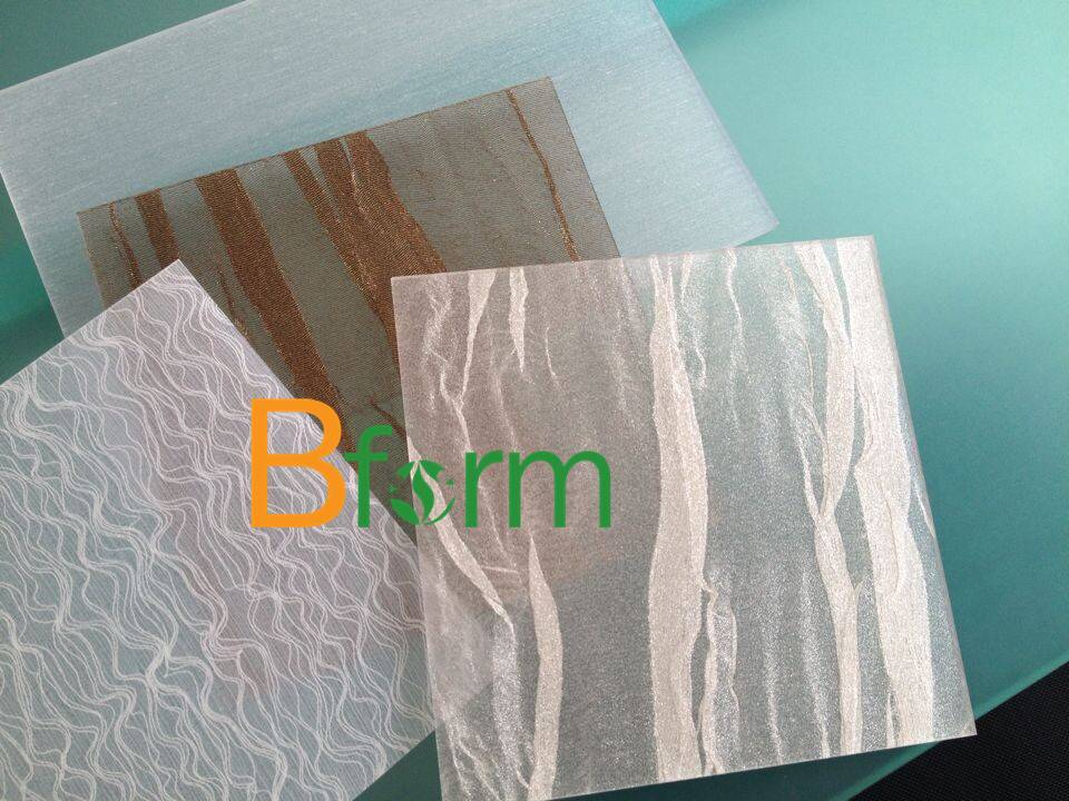 environment friendly resin sheet with fine interlayer