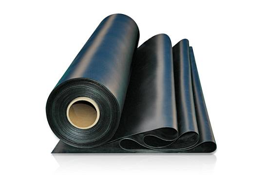 PVC waterproof coiled material