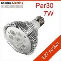 E26 / E27 7w PAR30 led spotlight bulb