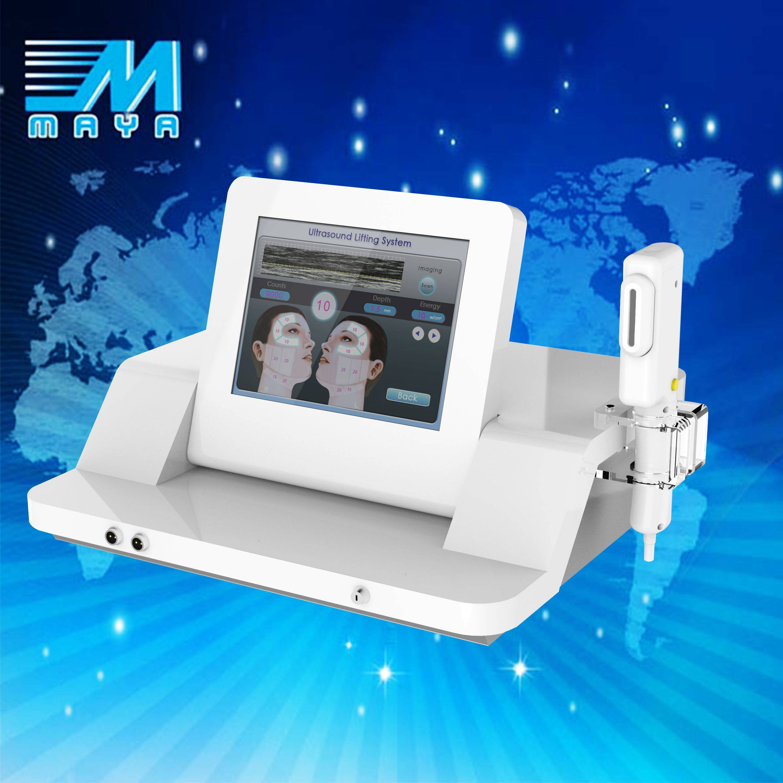 newest hifu technology for wrinkle removal/high intensity focused ulthera machine