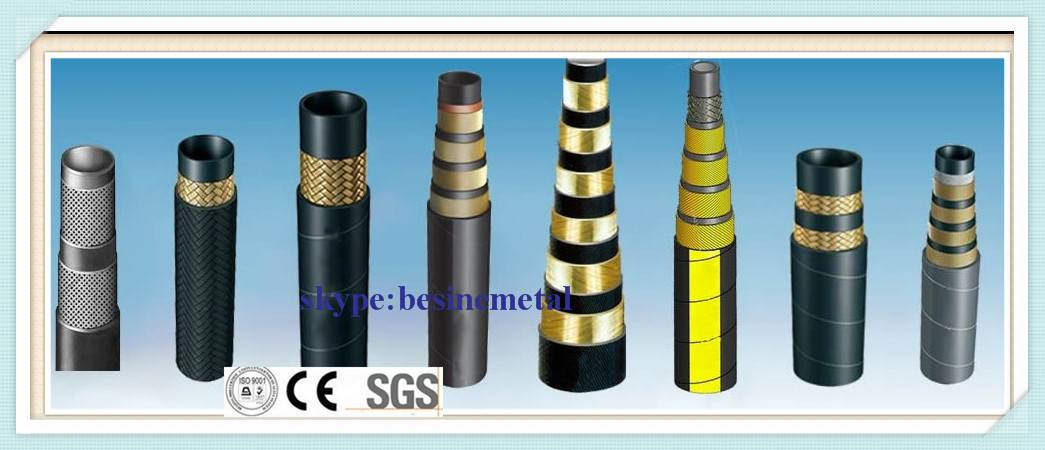 High pressure SAE rubber hose