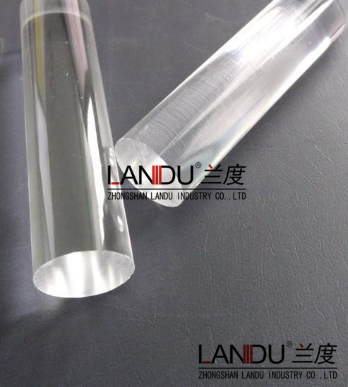 High quality different size transparent acrylic round rods acrylic round bars acrylic round sticks