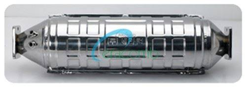 EURO3 POC(Partial DPF with DOC catalyst) Catalytic Converter for diesel vehicle