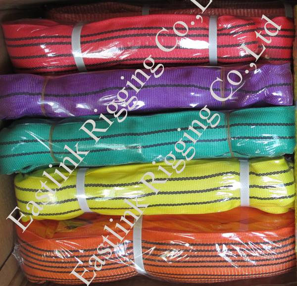 Polyester endless round slings