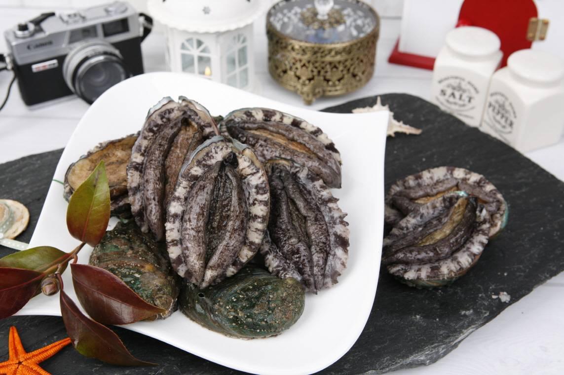 abalone boiled