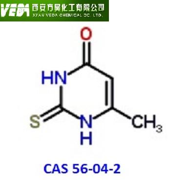 methylthiouracil; 56-04-2