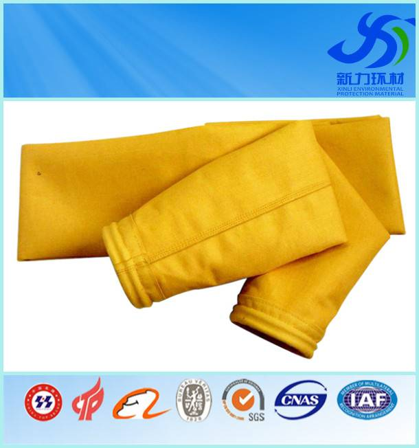 P84 filter bag/high temperature filter bag for dust collector