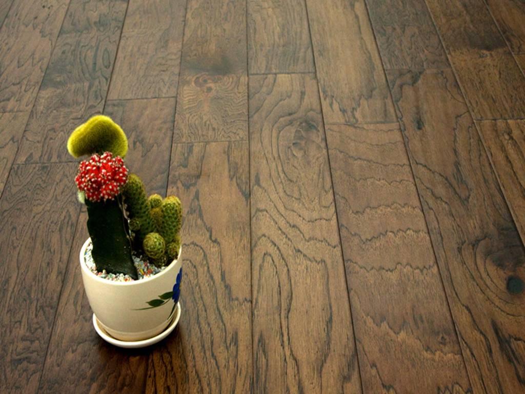 Hickory-Coffee Hardwood Flooring