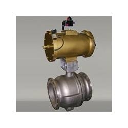 V.Port Ball Valve(2-Way Flange)