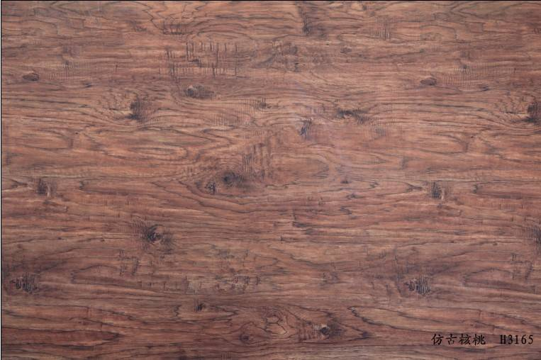 wood grain decorative film for floor surface