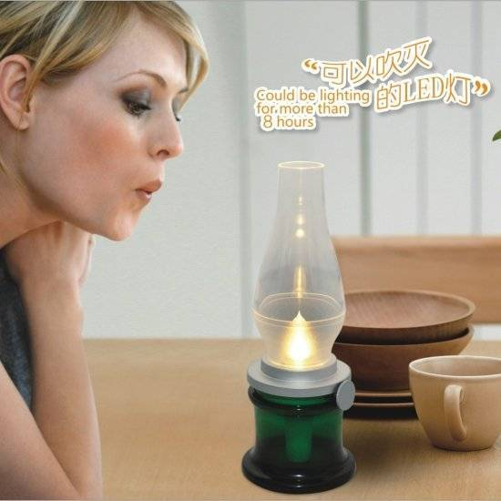 Rechargeable Blow LED Lamp