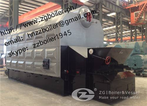 4 ton chain grate coal fired boiler
