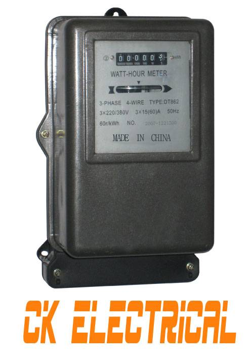 Three Phase Energy Meter DT862