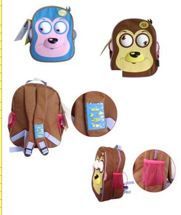 Remote control animated schoolbag with sounds&moves