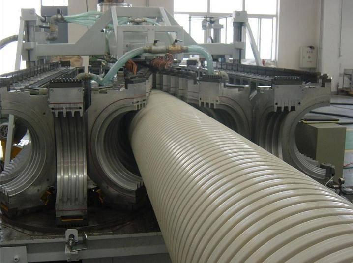 PVC corrugated Pipe Machine-plastic pipe line
