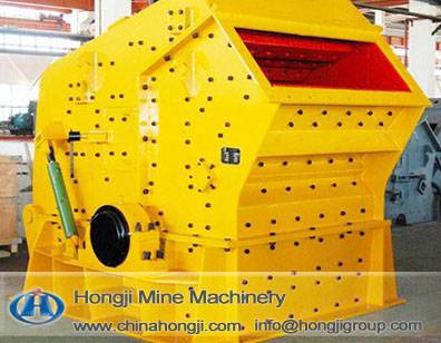 Zhengzhou Hongji high efficiency reliable impact crusher pf1320 with best service
