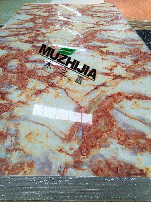 multicolor pvc artificial marble wall panels
