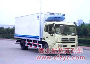 different types and models of Refrigerator truck