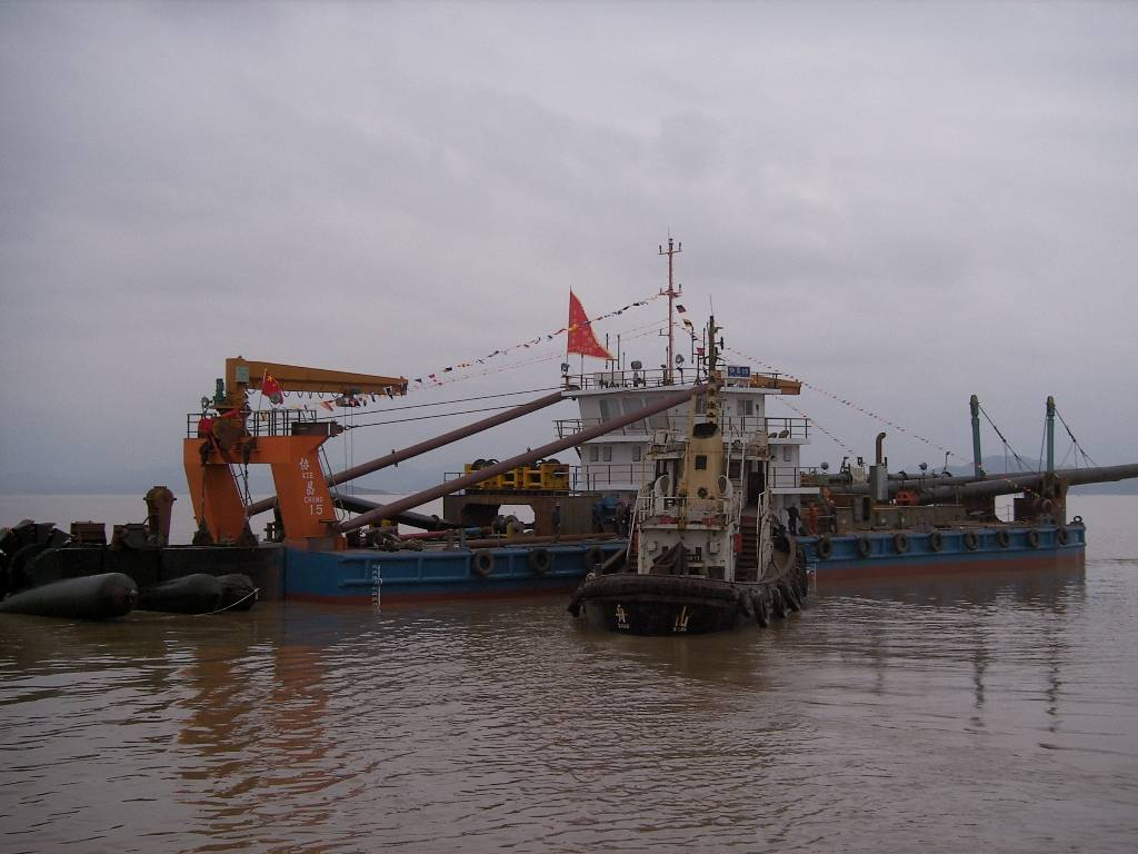 1800m3/h Bucket Wheel Dredger 2008 China
