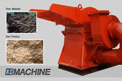 Wood Branches Crusher, Tobacco Stems Crusher, Tree Bark Crusher, Waste Template Crusher, Crusher