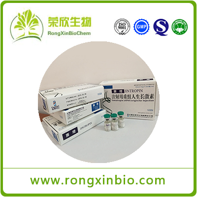 99.5% Jintropin HGH Good Quality Injectable Human Growth Hormone 100iu/Kit