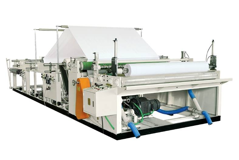 Automatic Toilet Paper Reel Slitting and Rewinding Machine