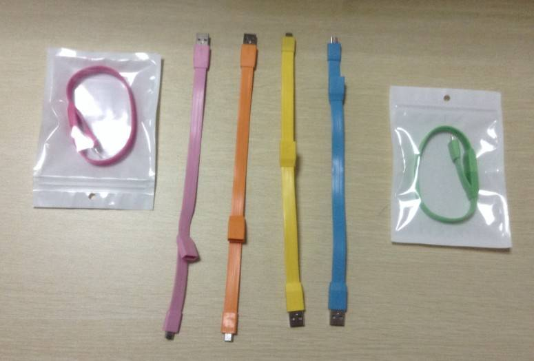 Bracelet USB Charging Data Sync Cable
