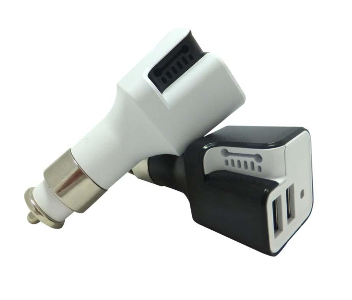 New Gadget: USB Car Charger with High-Tech Air Purifier