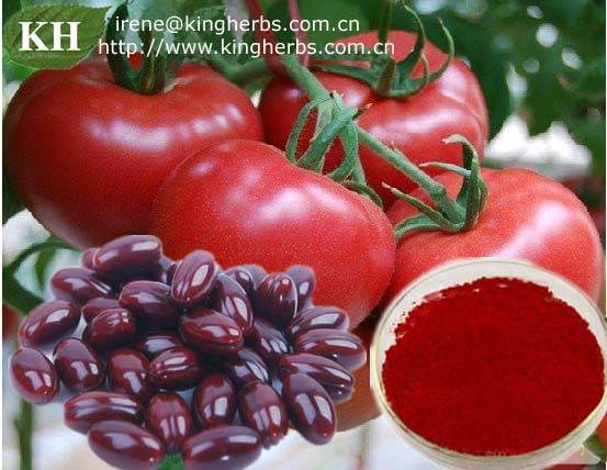 Kingherbs Offer Lycopene, Tomato extract CAS:502-65-8