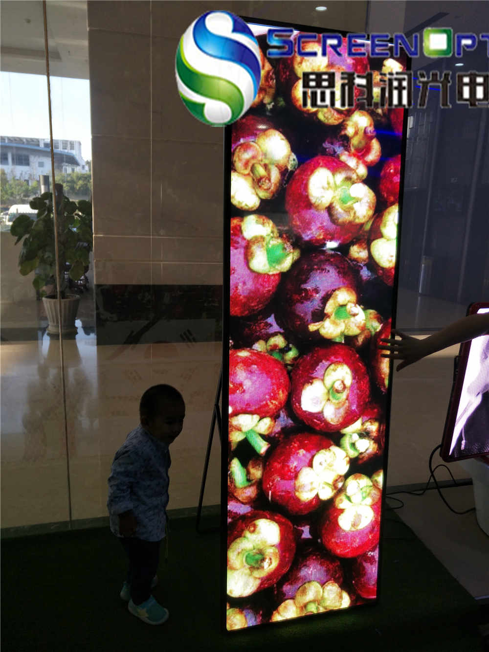 P5 outdoor full color double sides led sign
