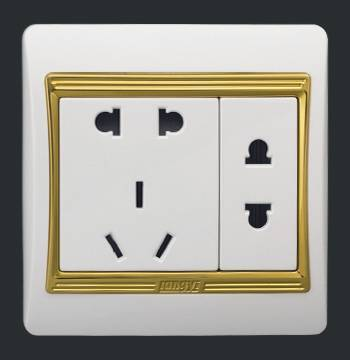 Wall White Socket