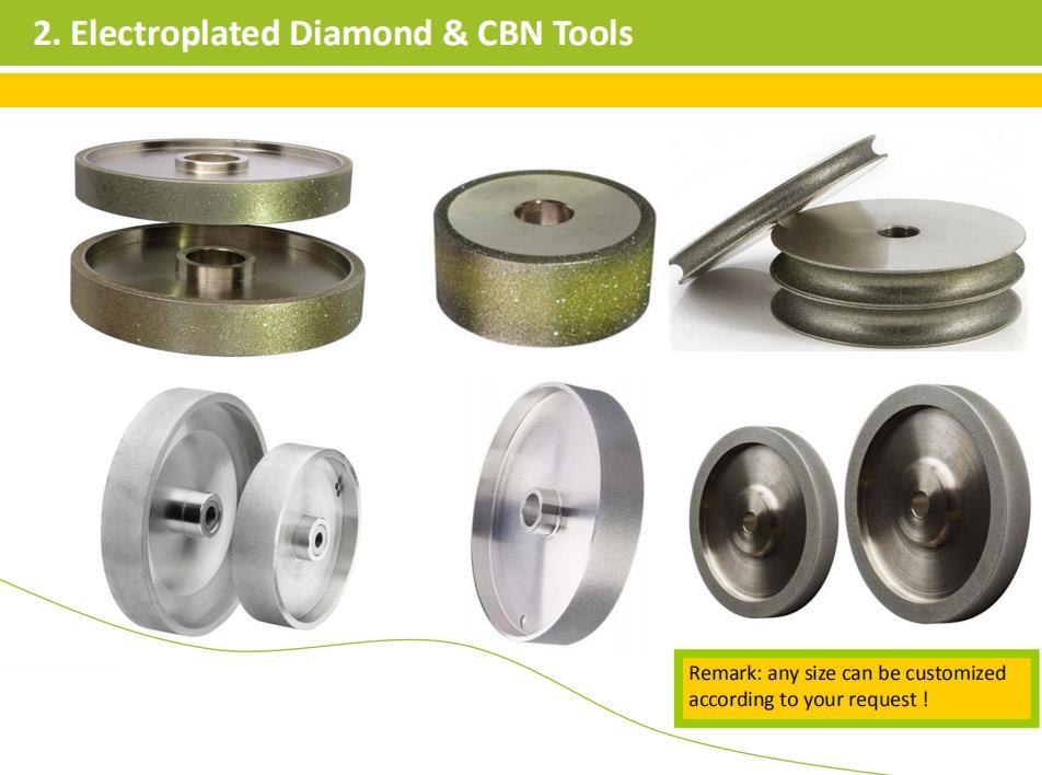 Professional diamond CBN grinding wheel factory