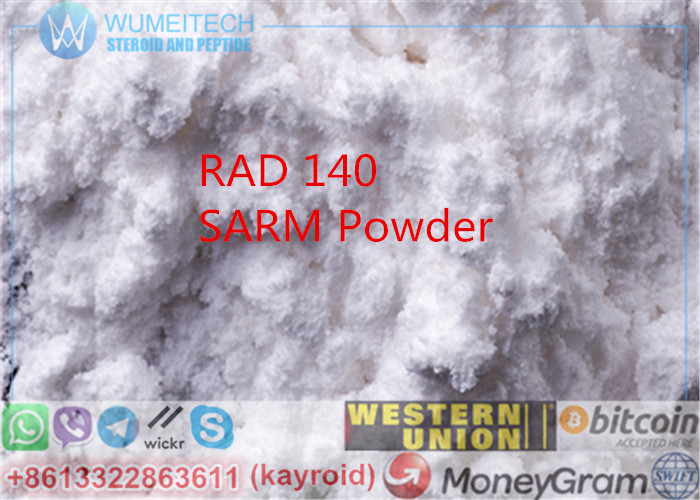 RAD140 SARM Raw Steroid Powder Bodybuilding MK2866 Lean Mass Workout Supplements