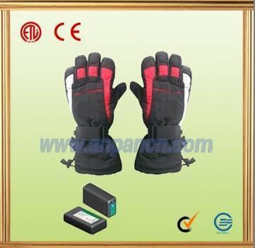 GH-75D ski gloves,heating warm glove,thermal glove