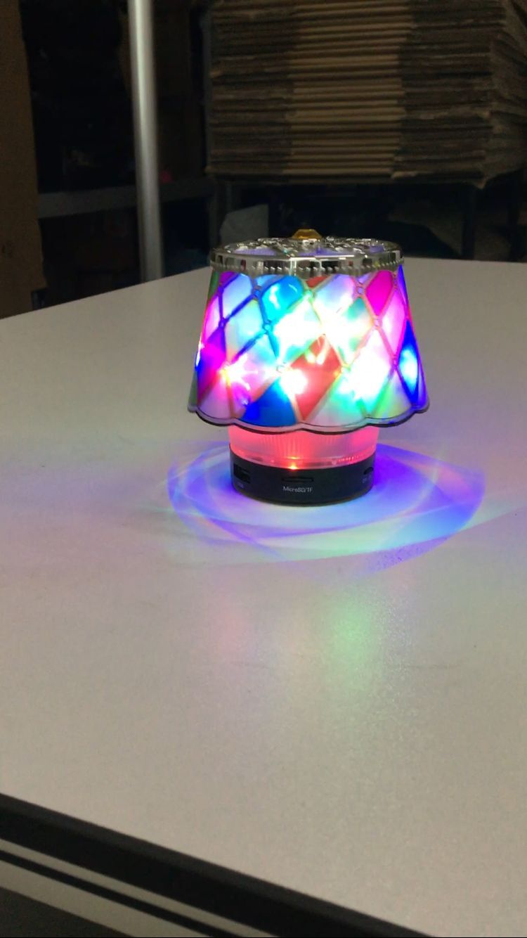 speaker with light